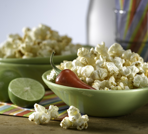 Zesty Chili Lime Popcorn