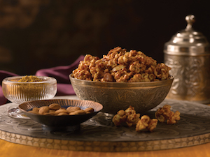 Madras Curry Coconut Popcorn