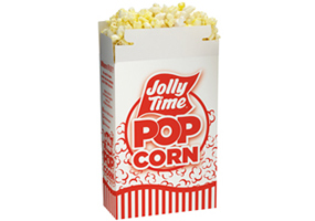 Jolly Time Popcorn Concession Supplies. Wholesale popcorn equipment and accessories. Bulk kernels, oil, salt, bags and cartons.