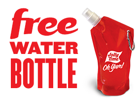 free water bottle