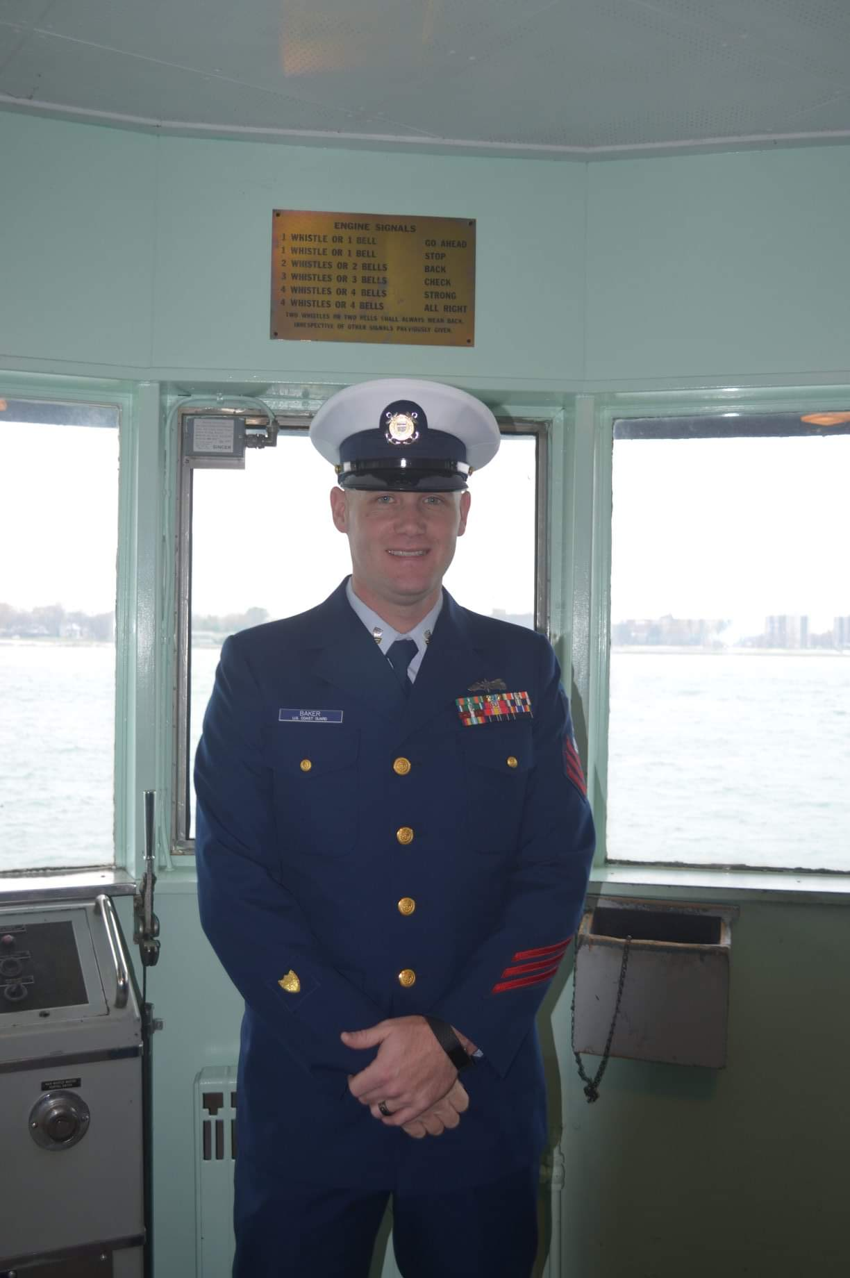 Photo of Timothy Baker, US Coast Guard