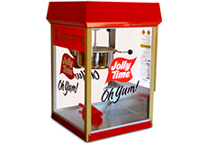 Jolly Time Popcorn Poppers. Commercial popcorn machines for theaters, concessions, professional or home use thumbnail